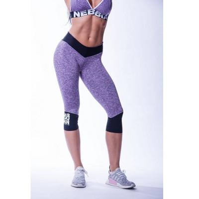 Nebbia High waist ¾ leggings 607 Purple