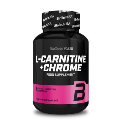 BioTech USA L-Carnitine+Chrom 60caps