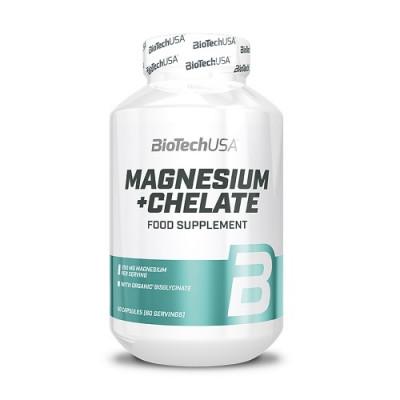 BioTech USA Magnesium + Chelate 60caps