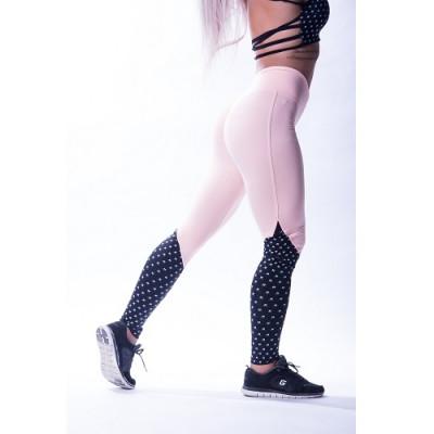 "Nebbia High waist ""Ns"" leggings 638 Losos/Black"