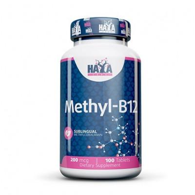 Haya Labs Methyl B-12 200mcg 100tabs