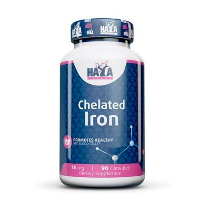 Haya Labs Chelated Iron 15mg 90caps