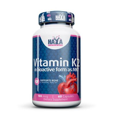 Haya Labs Vitamin K2-Mk7 100mcg 60caps