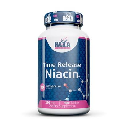 Haya Labs Niacin, Time Release, 250mg 100tabs
