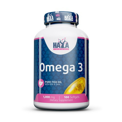 Haya Labs Omega 3 1000mg 100 softgels