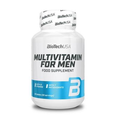 BioTech USA Multivitamin for Men, 60tabs