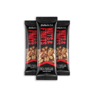 Biotech USA Nuts & Fruits Bar 40g