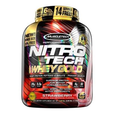MuscleTech Nitro-Tech Whey Gold  2510g