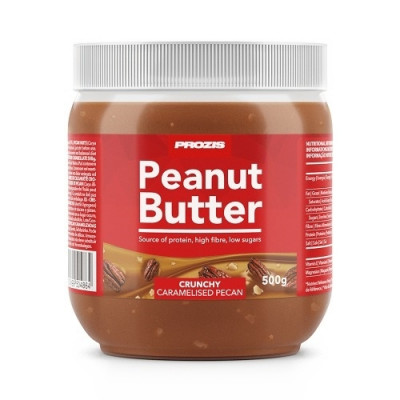 Prozis Caramelised Pecan Peanut Butter 500 g