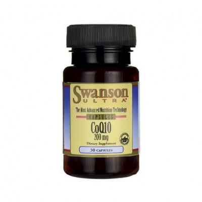 Swanson Q10 200mg 30caps
