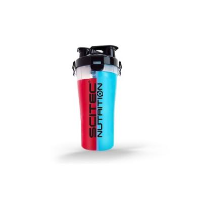 Scitec Plastic Dual Shaker 700 ml (2x350ml)