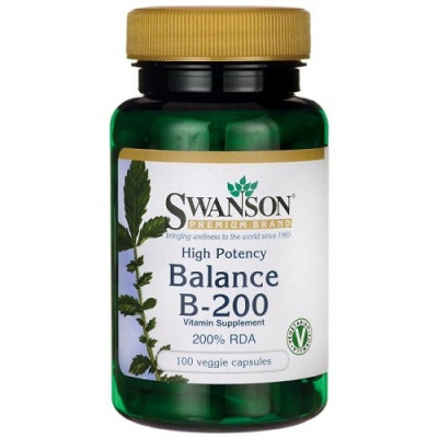Swanson Balance B-200 Complex, 100caps