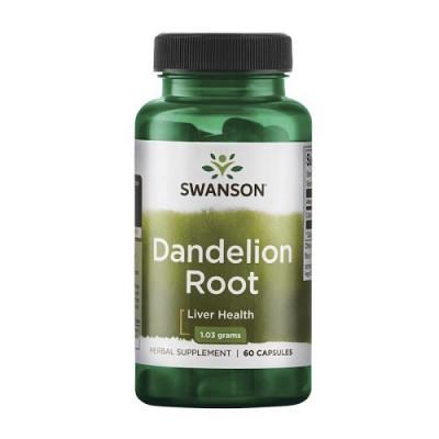 Swanson Dandelion Root, 60caps