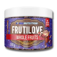 AllNutrition Frutilove Whole Fruits Strawberry in Milk Chocolate with Strawberry Powder 200g
