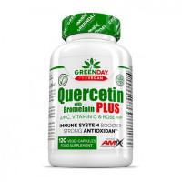 AMIX ProVegan Quercetin with Bromelain Plus 120vcaps