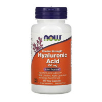 Now Foods Hyaluronic Acid Double Strength 100mg 60vcaps