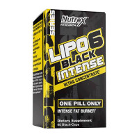 Nutrex Research Lipo-6 Black Intense UC 60caps