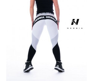 Nebbia Leggings Fitness Tights Combi 214 White