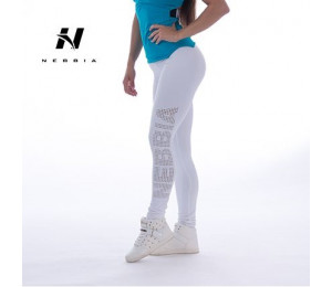 Nebbia Leggings Supplex Tights Laser 211 White