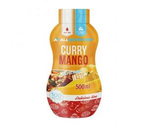 AllNutrition Sauce Curry Mango 500ml (Parim enne: 29.10.2021)