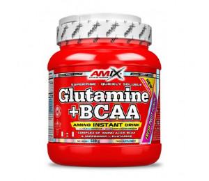 AMIX L-Glutamine + BCAA 530g