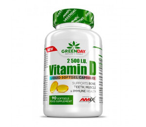 AMIX Vitamin D3 2500UI 90 softgels