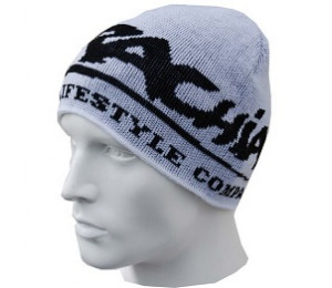 "Brachial Beanie ""Next"" - White/Black"