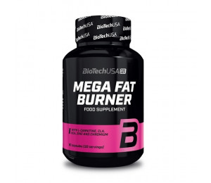 BioTech USA Mega Fat Burner 90caps