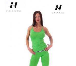 Nebbia Tight Singlet 224 Green