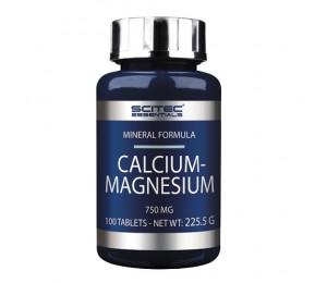 Scitec Calcium Magnesium, 100tabs