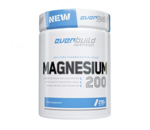 Everbuild Magnesium Citrate 200mg 250tabs