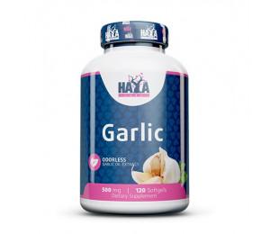 Haya Labs Odorless Garlic 500mg 120 softgels