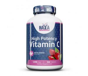 Haya Labs Vitamin C 1000mg with Rose Hips 100tabs
