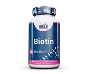 Haya Labs Biotin 500mcg 60caps