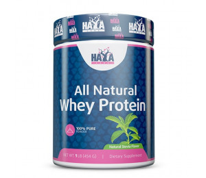 Haya Labs 100% All Natural Whey Protein 454g - Stevia