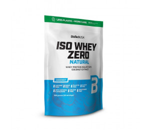 BioTech USA Iso Whey Zero Natural 500g