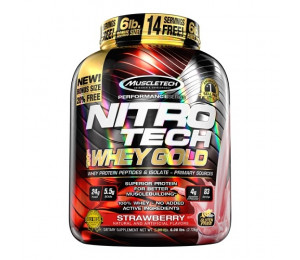 MuscleTech Nitro-Tech Whey Gold  2510g
