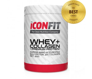 ICONFIT Whey + Collagen 400g (Parim enne: 23.03.2021)