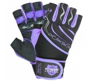 Power System Gloves Rebel Girl Purple