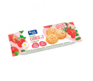 "ProteinRex Cookie 50g ""Strawberry"""