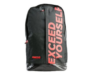 Prozis Exceed Yourself Black-Red Backpack
