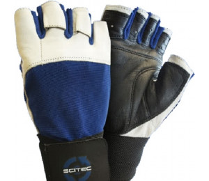 "Scitec Gloves ""Blue Power"""