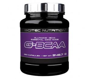 Scitec G-BCAA, 250caps