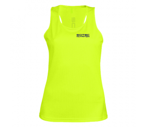 Scitec TECHNICAL TANK TOP YELLOW