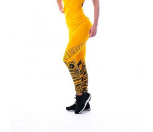 Nebbia Leggings Tights Tattoo 215 Yellow