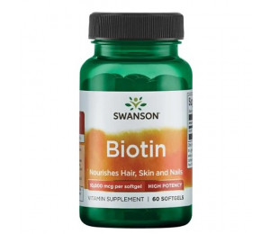 Swanson Biotin 60tab