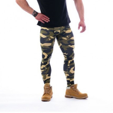 Nebbia Leggings Camo 115 Green