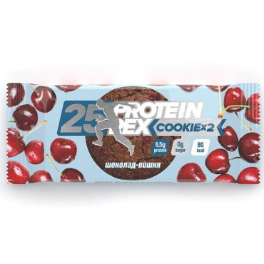"ProteinRex Cookie 50g ""Сhocolate Cherry"""