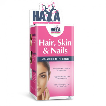 Haya Labs Hair, Skin and Nails 60caps