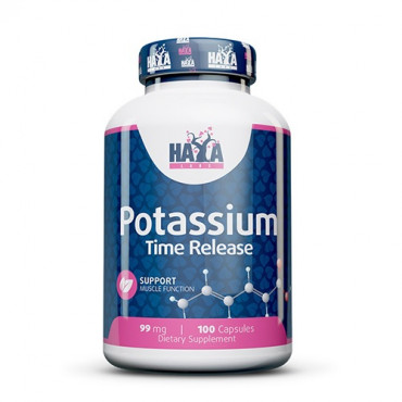 Haya Labs Potassium Time Release 100vcaps